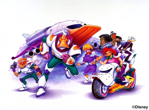 The Mighty Ducks animated